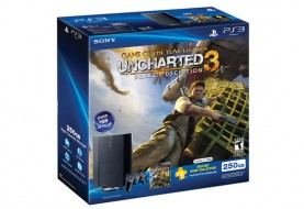 Video Game Deal of the Day: PlayStation 3 250 GB Uncharted 3, PS Plus Bundle