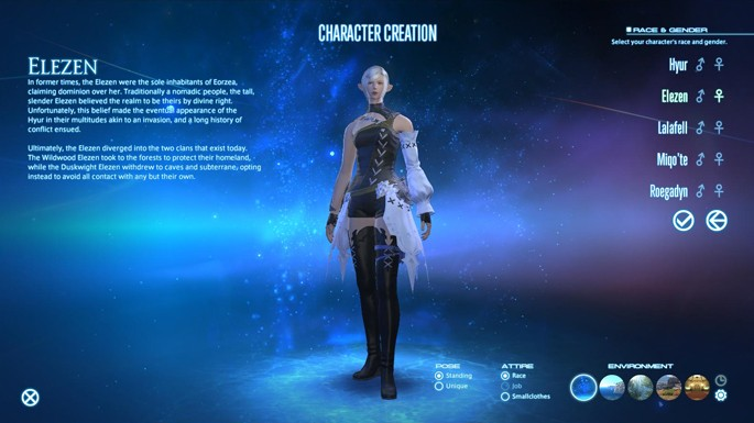 Final Fantasy XIV: A Realm Reborn Gets Free Character Creation Tool