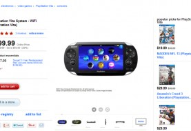 PlayStation Vita on Sale at Target for $199.99