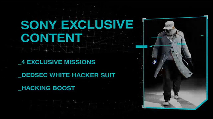 Watch Dogs Getting Exclusive Content on PlayStation 4