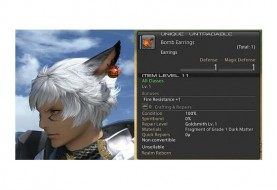 Bomb Earrings Added to FFXIV: ARR Tokyo Game Show Giveaway