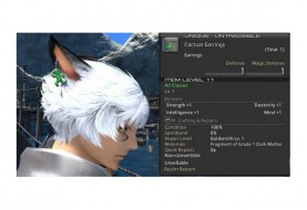 Free Cactuar Earrings Heading to Lucky Final Fantasy XIV Players
