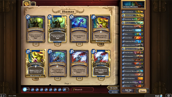 Upcoming Hearthstone Patch Details Released
