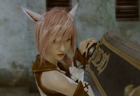 Lightning Borrows a Miqo'te Outfit from Final Fantasy XIV
