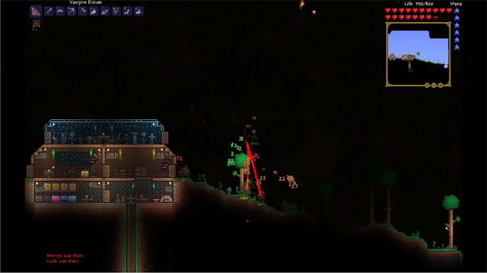 Terraria 1.2 Gameplay Trailer Reveals Tons of New Content