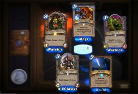 Full Cleared Opens 80 Packs of Hearthstone Cards