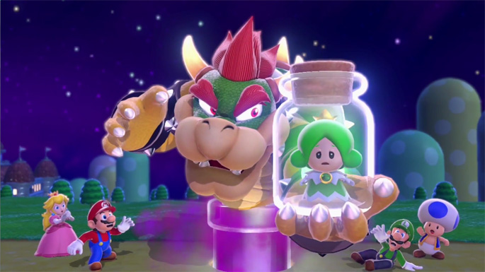 Super Mario 3D World Won't Have You Rescuing Peach for Once