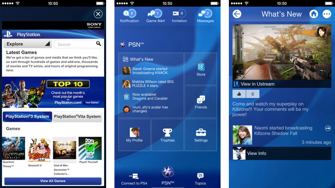 Sony PlayStation App Now Available for Download