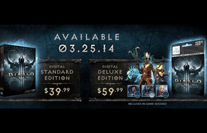 Reaper of Souls Release Date Set for March 25, 2014