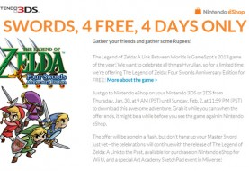 The Legend of Zelda: Four Swords Anniversary Edition Free for Limited Time