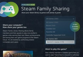 Steam Family Sharing Now Available