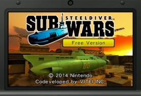 Steel Diver: Subwars Heading to 3DS Today