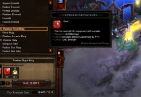 Reaper of Souls Gem Crafting Costs Reduced
