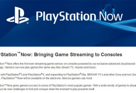 PlayStation Now Entering PS4 Private Beta Tomorrow