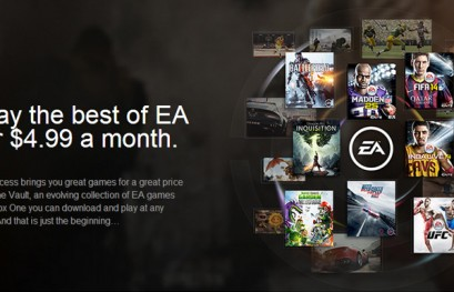 EA Access Unveiled as Xbox One Subscription Service