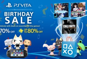PlayStation Vita Celebrates 3rd Birthday with Sale