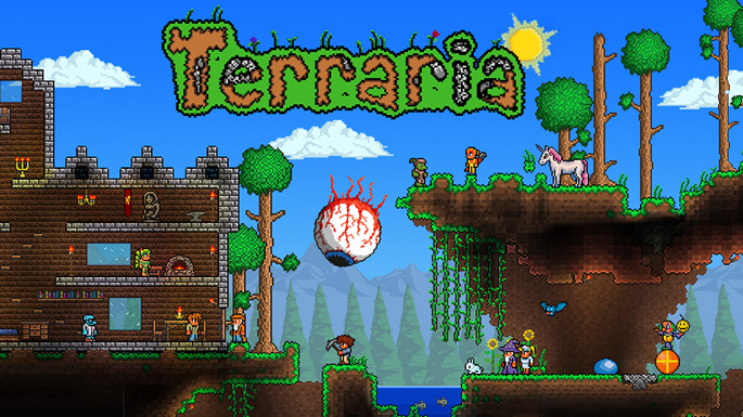 Terraria Heading to Wii U, 3DS