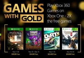 Xbox Live Games with Gold November 2015 Lineup Announced