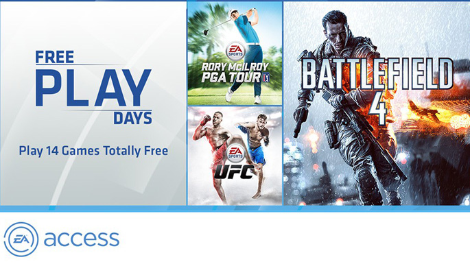 EA Access Free Next Week for Xbox Live Gold Members
