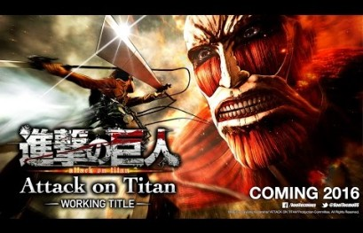 Attack on Titan Heading to PlayStation Consoles in 2016