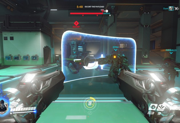 Reinhardt is there to protect you, use that shield wisely.
