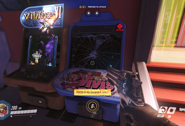 Just look at this attention to detail! You can destroy the arcade machines!