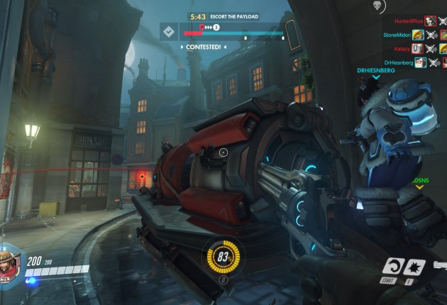 Escorting the payload isn't always as easy as it sounds.