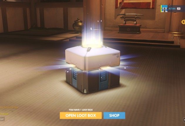 A loot box is rewarded each time you gain a level.