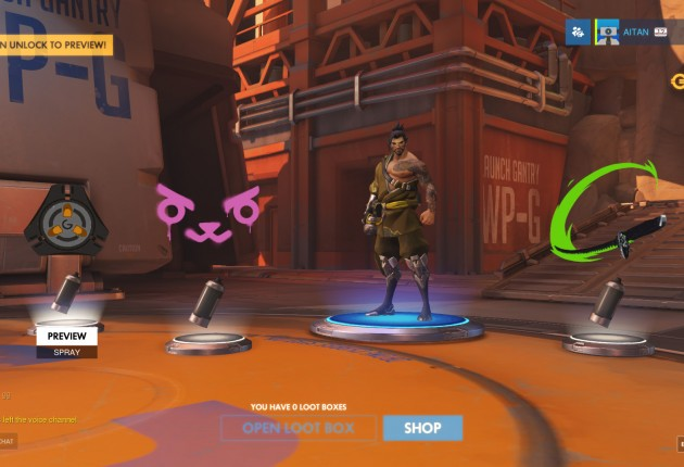 Just some of the things you can get from a loot box.