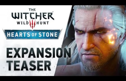 The Witcher 3 Expansion Hearts of Stone Arrives October 13
