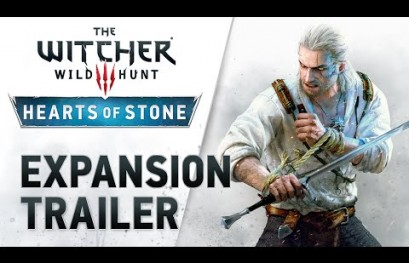 Watch The Witcher 3's Hearts of Stone Launch Trailer