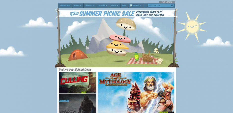 Top 10 Games to Buy During the 2016 Steam Summer Sale