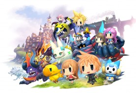World of Final Fantasy Gets Cute this October