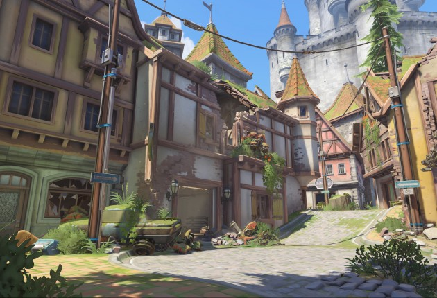 Overwatch's first new map: Eichenwalde.