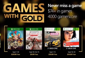 Games with Gold September 2016 Stars Mirror's Edge