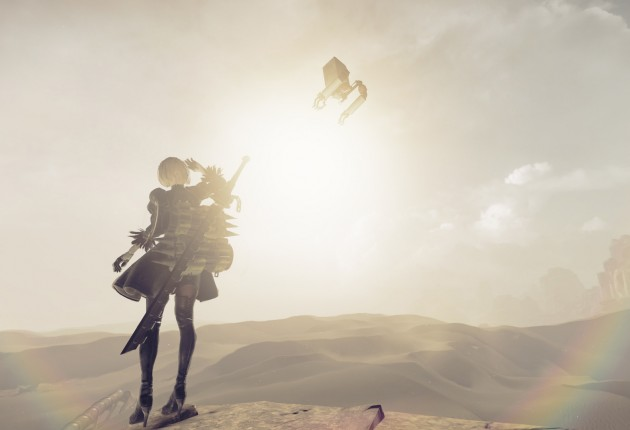 NieR: Automata is heading to PC via Steam early 2017.