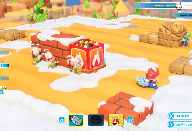 Mario + Rabbids Kingdom Battle Heads to the Nintendo Switch August 29.